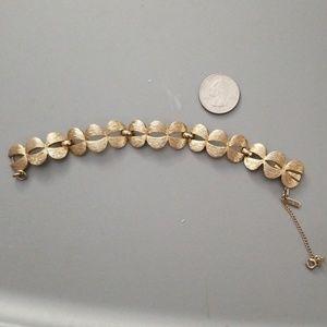 Vintage Monet Goldtone Link Bracelet
